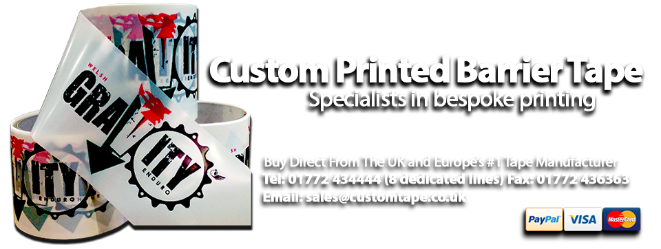 Europe's Premier Custom Printed Tape Manufacturer Custom Printed Tape Limited